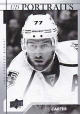 JEFF CARTER 2017-18 17-18 UPPER DECK 1 PORTRAITS INSERT #P-47 KINGS