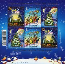 2019 Belarus Happy New Year! Merry Christmas! Jolly Kalyady! MNH