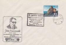 Poland postmark WARSZAWA - geology J. Czarnecki (analogous)