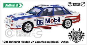 Sticker HOLDEN VK 1985 BROCK BATHURST - OXTON STYLE