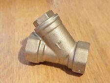 """1"""" brass inline y strainer  1""""BSPT female thread dn25 pn16"""