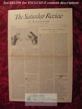 SATURDAY REVIEW November 7 1931 William Allen White Henry Tracy Josephine Pinckn
