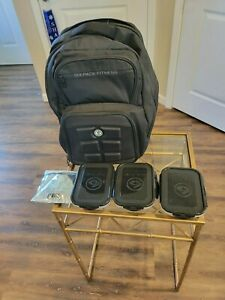 6 Pack Fitness Backpack Expedition 300. Meal Management travel Gear.