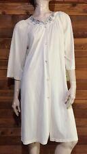 Vintage Shadowline Light Beige Size Small Robe #7713