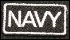NAVY Iron-on Patch/Badge for Naval Academy T-Shirt Hat Cap Uniform Bag US 25P