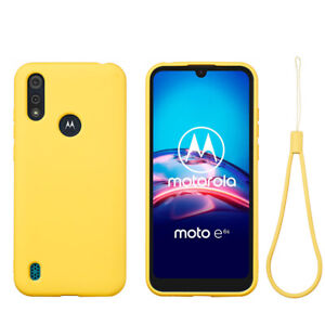 Soft liquid silicone Case For moto G8 Power G9 Plus G Plus Shockproof Back Cover