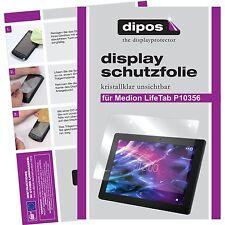 2x Medion Lifetab P10356 Schutzfolie Display Folie klar Displayschutzfolie dipos