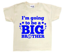 "Big Brother T-Shirt ""I'm Going to be Big Brother"" Funny Boy Tee Clothes Present"