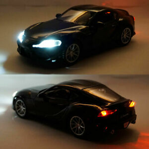 Toyota GR Supra 1:32 Scale Model Car Diecast Toy Vehicle Collection Gift Black