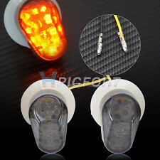 1 Set Smoke LED Flush Mount Turn Signal Blinker Marker for Yamaha R6 R1 FZ1 FZ6R