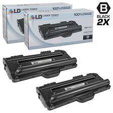 LD © Fits Samsung ML-1710D3 2pk Black ML-1500 ML-1700 Series Printers