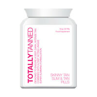 TOTALLY TANNED SKINNY TAN TABLET SLIMMING PILL PERMANENT TAN WEIGHT LOSS FAST