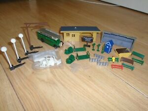 Collection of Scenic Accessories for Hornby OO Gauge Train Sets