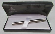 Parker Latitude Chrome Roller Ball Pen with Black Ink