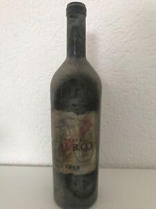 Château TALBOT Grand Cru Saint JulienWehrmacht-Stempel 1940 Sehr schöne Flasche