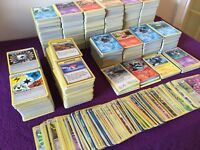 Random Pokemon Cards Bundle Including Holos, Rare Bulk Joblot Base Pick Quantity