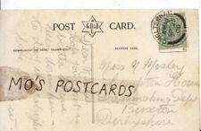 Genealogy Postcard - Mosley - Dressmaking Dept - Buxton - Derbyshire - Ref 7631A