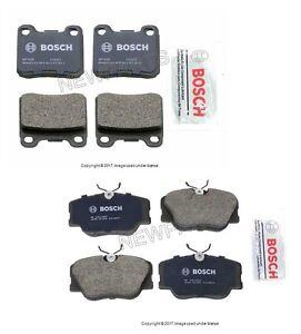 For Mercedes W124 W201 190E 260E 300E Set of Front & Rear Disc Brake Pad Bosch