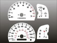1999-2000 Toyota 4Runner White Face Gauges 99-00