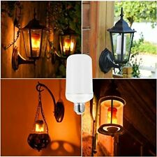 E27 Flicker Flame Light Bulb 99 LED Burning Fire Light Effect 3 Modes Xmas Decor