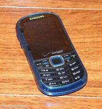 Samsung Intensity II SCH-U460 - Metallic Blue (Verizon) Cellular Phone ONLY
