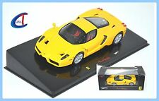 "M0153 HOT WHEELS ELITE 1:43 - Ferrari ""ENZO FERRARI"" - giallo Yellow - Ltd.Ed."