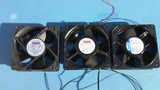 Lot of 3 AXIAL Fans F1238M24B UF12A23 4800 Z electronics computer INDUSTRIAL