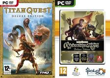 titan quest deluxe edition & Neverwinter Nights Deluxe   new&sealed