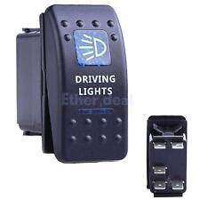 Kippschalter Schalter ON-OFF 12V Blau LED 5 Pin Auto Boot DRIVING LIGHTS