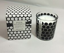 NEW POINT A LA LIGNE Paris Scented Candle Blooming Fig Glass Jar ~ 4.76 OZ