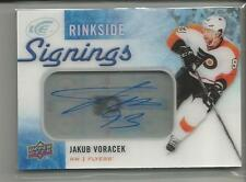 2015-16 Upper Deck Ice Rinkside Signings Jakub Voracek Autograph Card - Flyers