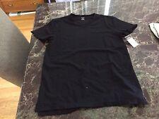 NWT Rue 21 Black Shirt Tee Size SM Small FREE SHIPPING!!!