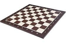 Schachbrett Nr. 6 - WENGE - 54 x 54 cm - Feld 58 mm - Schach aus Holz