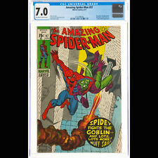CGC FN/VF 7.0 Off-white to white pages (Marvel, 1971) The Amazing Spider-Man #97