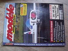 """$$ Revue modèle magazine N°543 Plan encarté """"Acroflop""""  OS 140 RX  Robin  Mantis"""