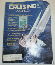 Cruising World Magazine How To Avoid Cyclones And Hurricanes July 1984 011715R