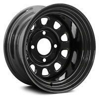For Kawasaki Mule PROFXT 15-19 ITP Delta Steel Front ATV/UTV Black Delta Wheel