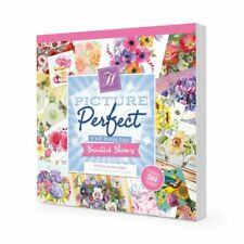 Hunkydory ~ Picture Perfect Paper Pad ~ 48 8x8 sheets ~ Beautiful Blooms