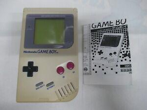 GB -- Game Boy Console Gray -- Game Boy, JAPAN Game Nintendo. Work fully!! 00009