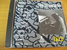 THELONIOUS MONK OMONIMO CD  MINT--- JAZZ CURCIO ONLY ITALY