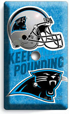 CAROLINA PANTHERS FOOTBALL TEAM LOGO LIGHT DIMMER CABLE WALL PLATE COVER MANCAVE