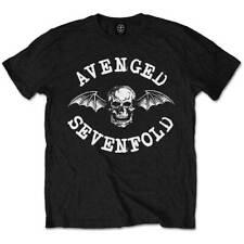 AVENGED SEVENFOLD Classic Death Bat Mens T Shirt Unisex Official Band Merch