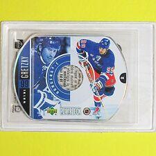 """WAYNE GRETZKY   1999-00  """" POWERDECK DVD """"  NY Rangers  L2"""