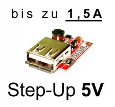 DC Step-up módulo de 3v a 5v/1, 5a USB cargador regulador/pieza