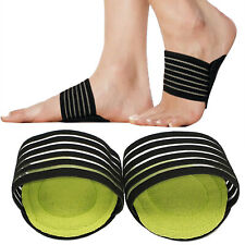 Arch Support Plantar Cushion Fascitis Insole Foot Fallen Arches Heel Pain Relief