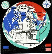 L OTAN OBLITERATION BLEUE   FRANCE ENVELOPPE Premier Jour 1° FDC  Yt 1228