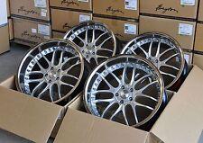 Breyton GTR silber Felgen mit Tiefbett 9x22 + 10x22 Zoll BMW X5 F15 + X6 F16