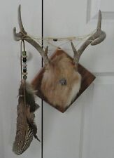REAL ANTLER DREAM CATCHER w/Oak Mount-Rustic Décor-Custom Made-MINT