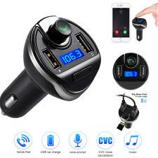 NEW Wireless Bluetooth Car Kit FM Transmitter HandsFree Calling Smartphone UK