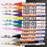 Waterproof Car Tire Tread Paint Pen Marker Doodle Pen Kids Graffiti Oily Pens